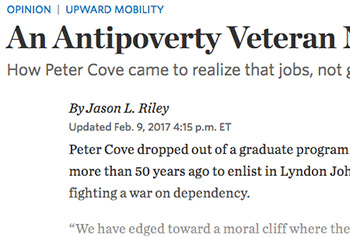 An Antipoverty Veteran Now Wages War on Dependency